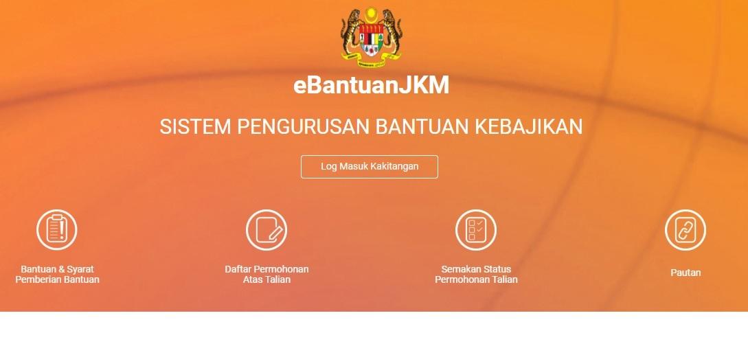 Cara Mohon Ebantuan Jkm Online Bantuan Prihatin Rakyat