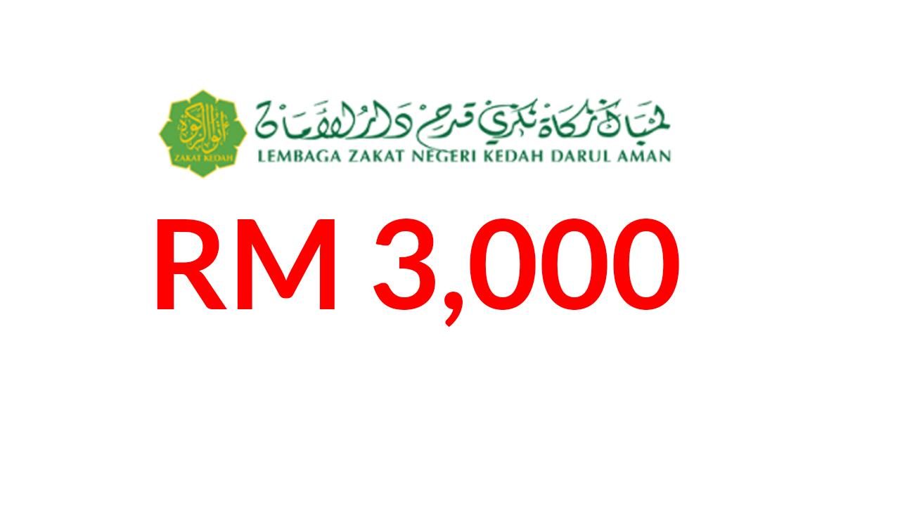 Skim Bantuan Jayadiri Lembaga Zakat Negeri Kedah Bantuan Prihatin Rakyat