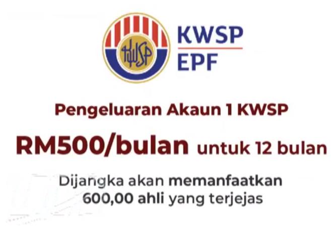 I Sinar Pengeluaran Wang Kwsp Akaun 1 Bantuan Prihatin Rakyat